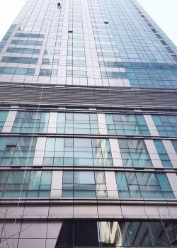 수원 빌딩 실리콘 보수 현장
